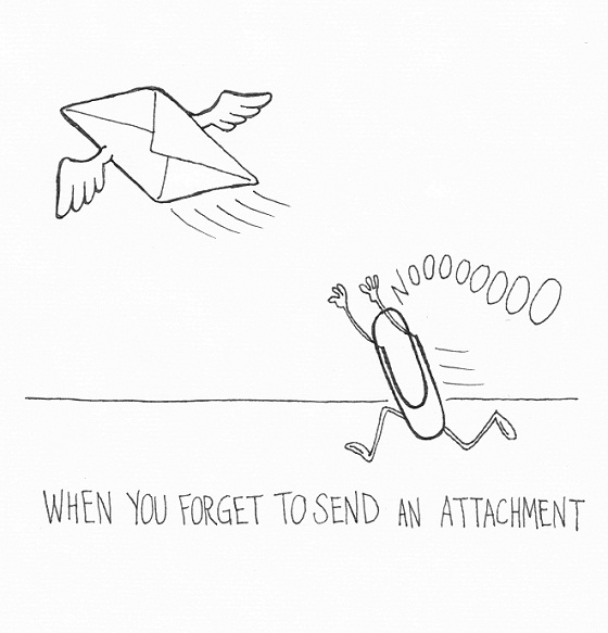 Attachment Fail