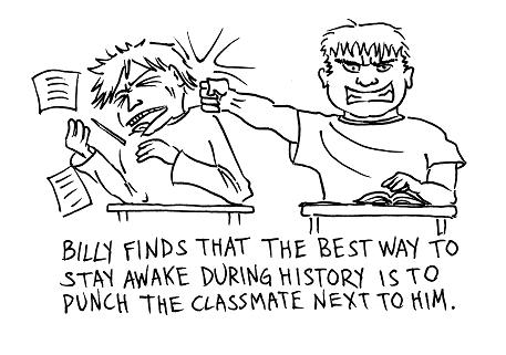 Fist in class