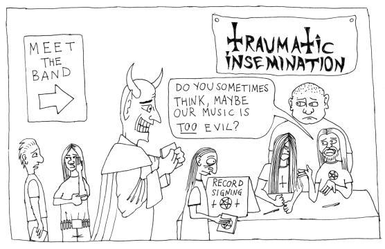 Traumatic Insemination