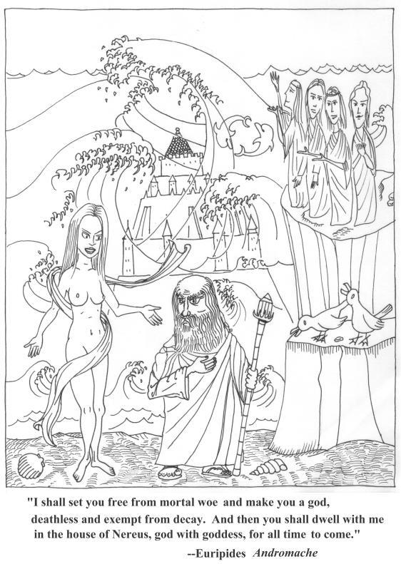 Thetis & Peleus