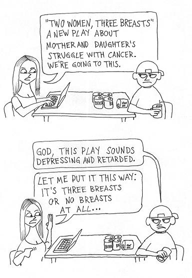 Three Breasts