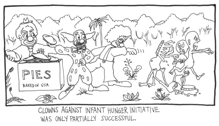 Clowns Against Hunger